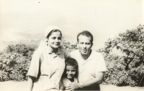 Holidaying in Kashmir with his parents Geeta and Harish Kapadia