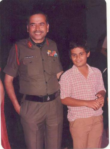 With Lt. General R. Kulkarni