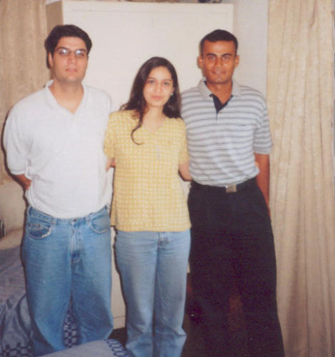 Arif Pathan, Reshma and Nawang