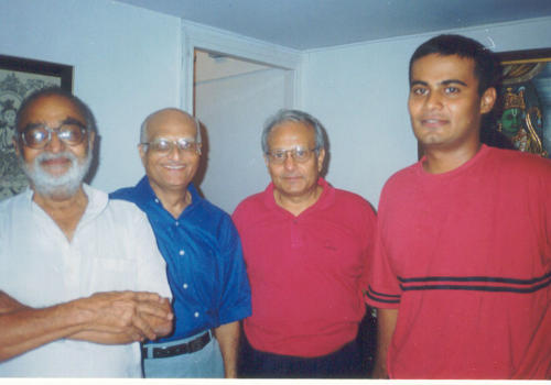 All the doctors..Dr. Vasant Desai, Dr. Rodhan Shroff, Harish Kapadia and Nawang