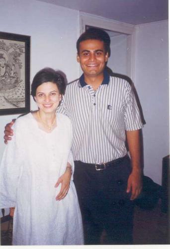 with Savita Maushi